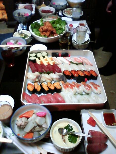 メインの年越し寿司
