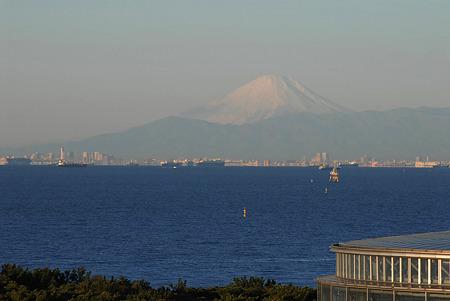 2010/01/01 東京湾と富士山 @千葉市美浜区