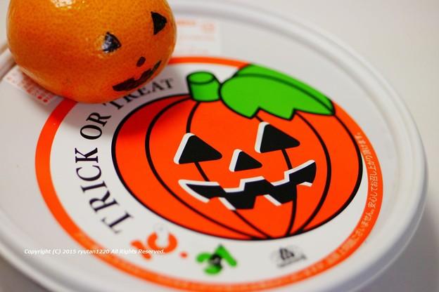 かぼちゃプリン@モロゾフ 151030_002