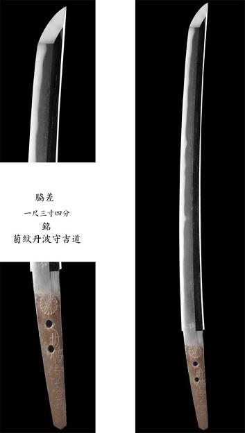 菊紋丹波守吉道