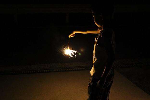 小さな花火3