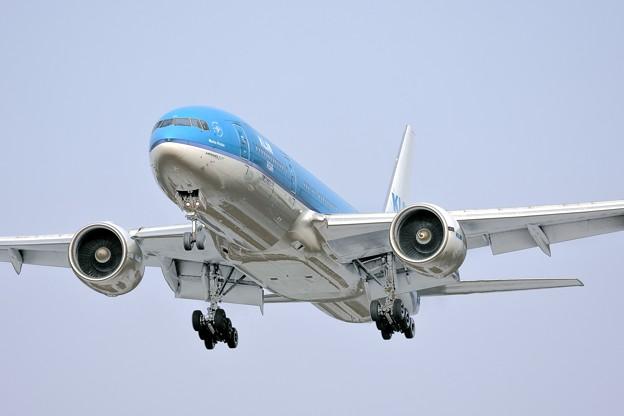 写真: KLM ASIA Boeing777-200 FUK last flight