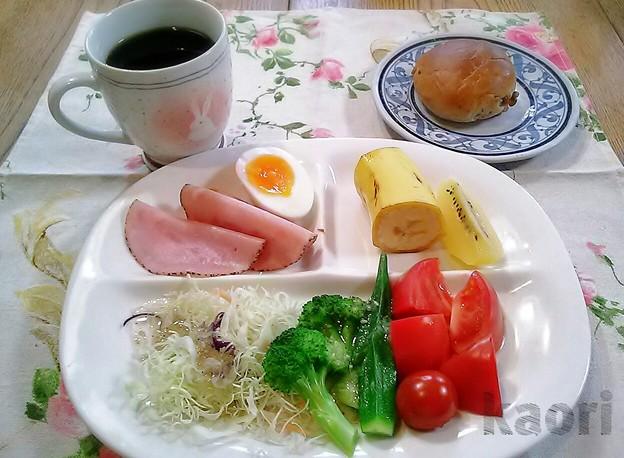 クルミパン 朝食