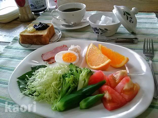 デニッシュトースト 朝食