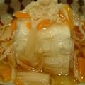 写真: 水晶豆腐きのこあんかけ