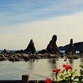 写真: 橋杭岩