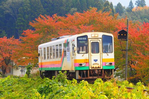 山形鉄道フラワー長井線 荒砥~鮎貝