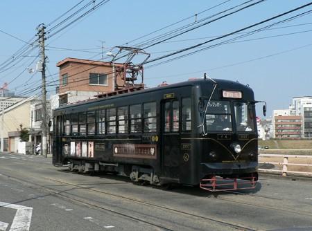 岡山電気軌道3000形3007号