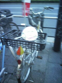 送風機付自転車?