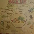Photos: Kitchen Trouquet@中目黒のメニュー(一部)