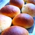 テーブルロールとスイートポテトパン