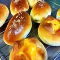 スイートポテトパンとチーズパン