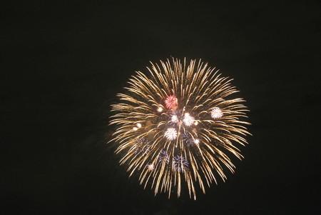 多摩川の花火大会1