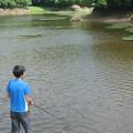 岩婦湖のブラックバス釣り