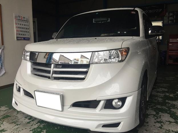 トヨタbB シートカバー取付 クラッツィオ 名古屋市