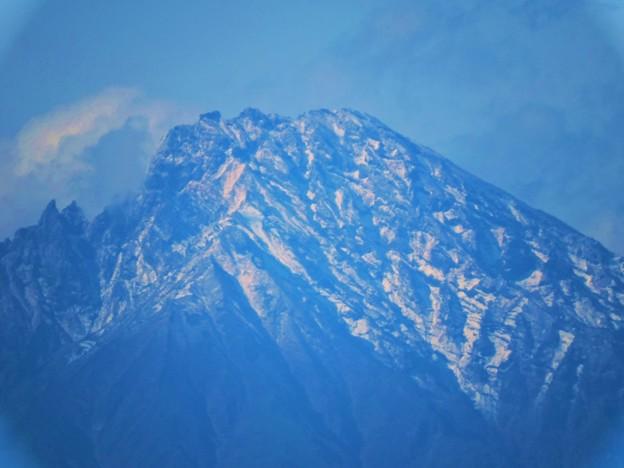 雪の利尻富士-3