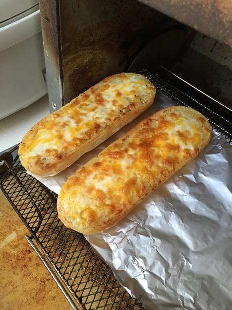 チーズフランス焼きあがり!!