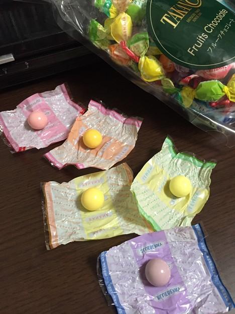 新宿高野のフルーツチョコレート10