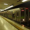 Photos: 京王新線初台駅1番線 10-220F急行笹塚行き停車中