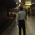 Photos: 都営新宿線曙橋駅2番線 京王9735各停本八幡行き進入