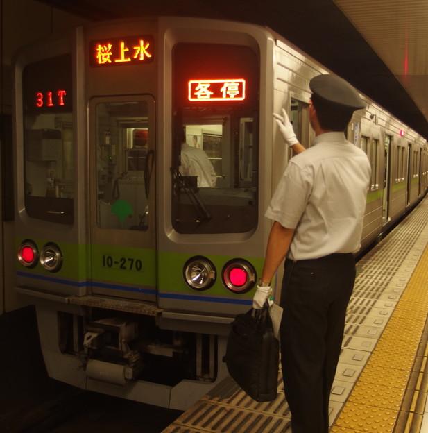 京王新線新宿駅4番線 10-270F各停桜上水行き表示確認