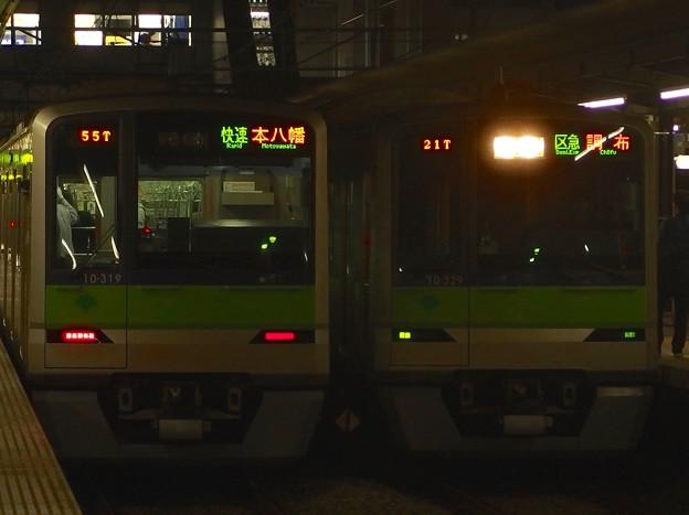 京王線桜上水駅 10-300Rどうしの並び