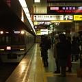 都営浅草線東日本橋駅1番線 京成3848Fエアポート快特羽田空港行き進入