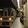 Photos: 都営新宿線九段下駅5番線 京王9032急行笹塚行き通過進入