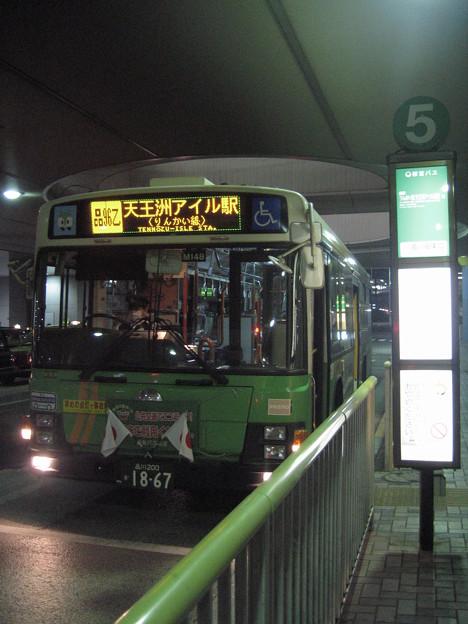品川駅東口 M149品96乙天王洲アイル駅行き