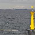 Photos: 灯台も太陽電池