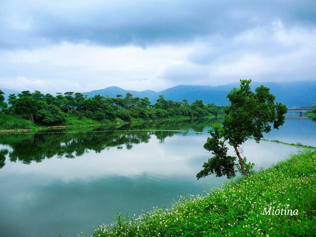台灣宜蘭 冬山河