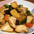 Photos: 鶏胸肉と野菜の炒め煮