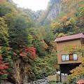 写真: 大平温泉滝見屋紅葉2