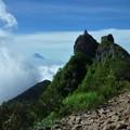 Photos: 権現岳と富士山