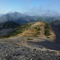 Photos: 遠くに槍ヶ岳