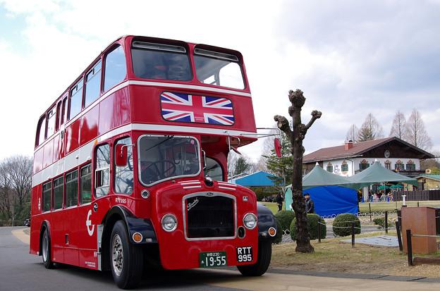 ロンドンバス@リトルワールド(3)