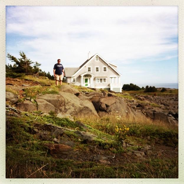 Jamie Wyeth の家を発見