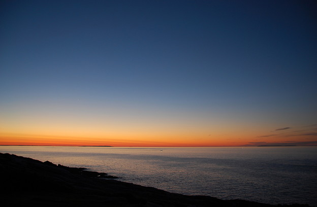 The Dawn at Pemaquid - a Lobster Boat 8-20-14