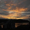 The Sunset from Fish and Maine 8-21-14