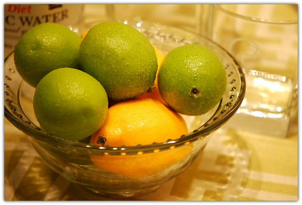 「第86回モノコン」Lemons & Limes for Tonight