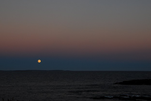 The Supermoon and the Ocean 9-27-15