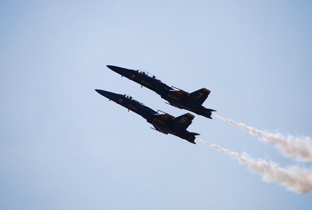 Photos: Blue Angels Section High Alpha Pass 9-5-15