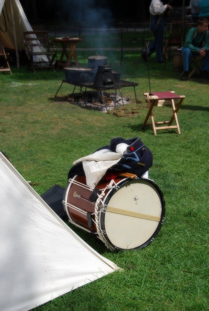 A Drum and Uniform 8-8-15