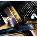 写真: Log Splitter  8-15-15