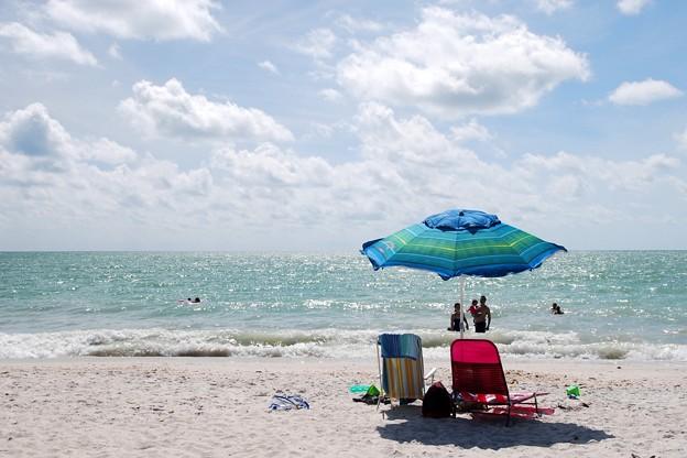 Beach Umbrella 4-8-16