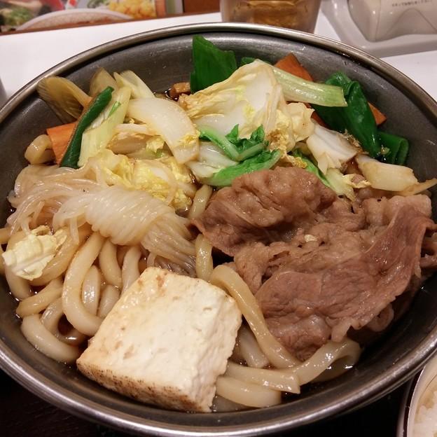 すき家 新・牛すき鍋定食