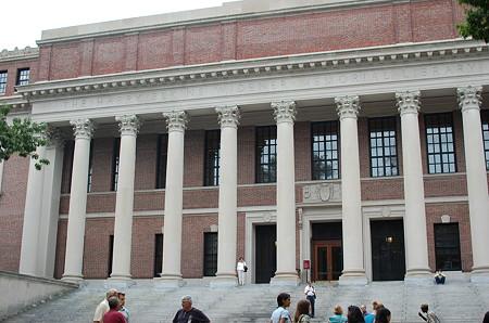 Harvardワイドナー図書館