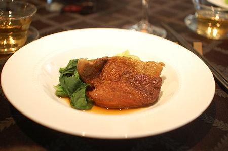 豚肉の黒酢煮