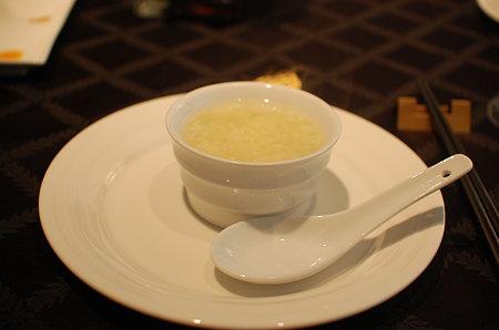 卵とたけのこのスープ