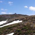 刈田岳山頂を望む